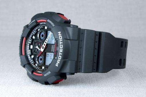 ساعت مچی مردانه کاسیو جی شاک مدل ga100-1a4