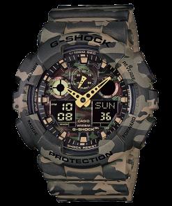 ساعت مچی مردانه کاسیو جی شاک مدل GA-100CM-5A